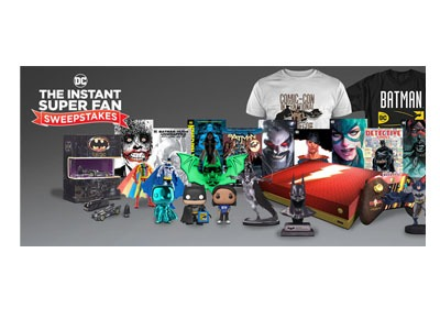 DC Instant Super Fan Sweepstakes