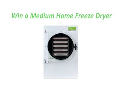 HarvestRight Home Freeze Dryer Giveaway