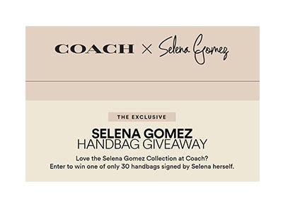 Win an Exclusive Selena X Coach Bag
