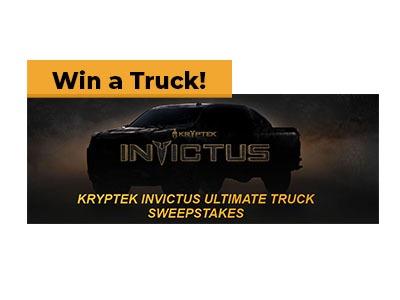 Carbon TV Kryptek Ultimate Truck Sweepstakes
