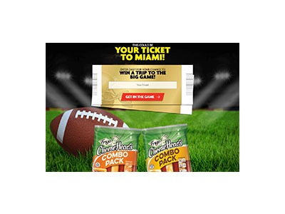 Frigo Cheese Heads Winning Combos Sweepstakes