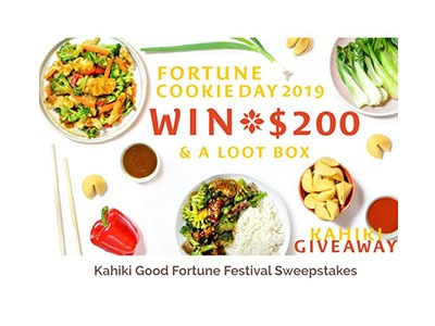 Kahiki Good Fortune Sweepstakes