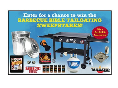 Barbeque Bible Tailgating Sweepstakes