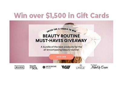 Beauty Routine Must-Haves Giveaway