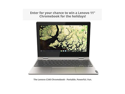 Techlicious Lenovo Laptop Sweepstakes