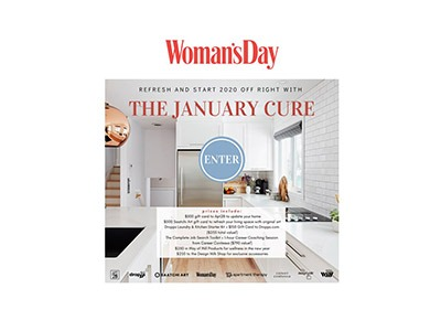 Woman's Day January Cure Sweepstakes