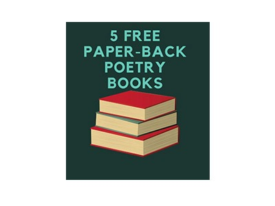 Win 5 Paperback Poetry Books