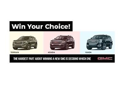 2020 Win A GMC Sweepstakes