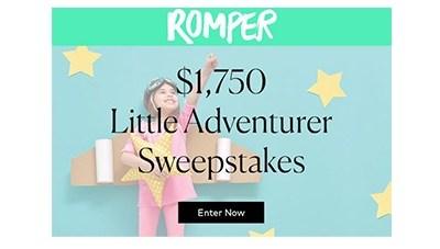 Romper Little Adventurer Sweepstakes