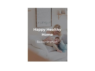 Happy Healthy Home Sweepstakes