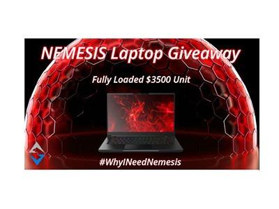 Nemesis Gaming Laptop Giveaway