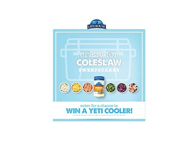 Litehouse Crazy for Coleslaw Sweepstakes