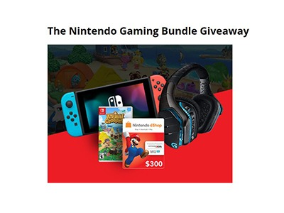 Nintendo Switch Gaming Bundle Giveaway
