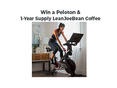 Win a Peloton and 1-Year Supply of LeanJoeBean Coffee
