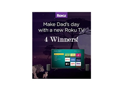 Roku Father's Day Sweepstakes