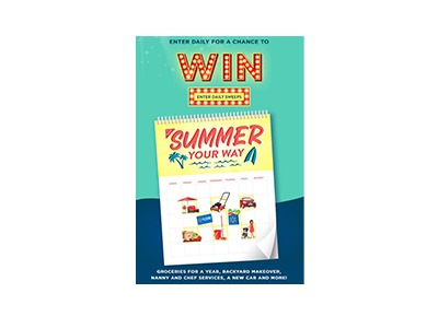 Summer Your Way Sweepstakes