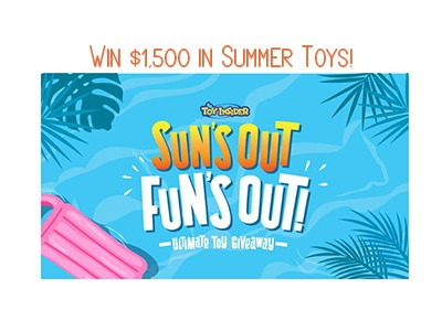 Sun's Out Fun's Out Toy Giveaway