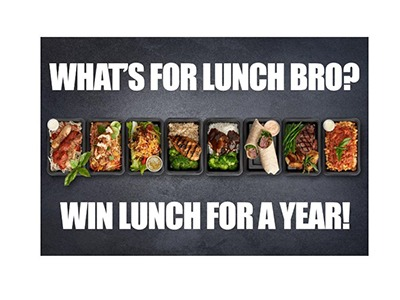 Win FREE Lunch for an Entire Year