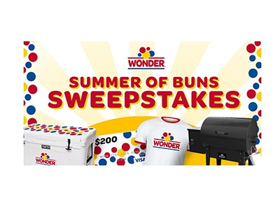 Wonder Summer of Buns Sweepstakes