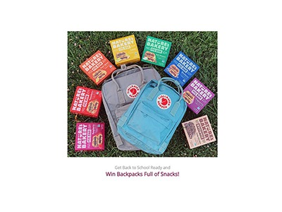 Nature's Bakery Get Back to School Ready Giveaway