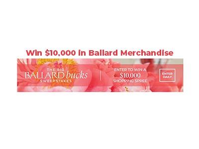 The Big Ballard Buck Sweepstakes