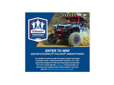 2020 BFGoodrich Polaris Sweepstakes 2020