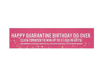 Happy Quarantine Birthday Do-Over