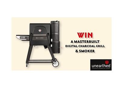 Masterbuilt Digital Charcoal Grill & Smoker Giveaway