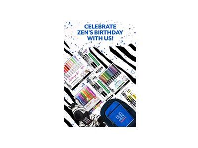Zens Belated Birthday Sweepstakes