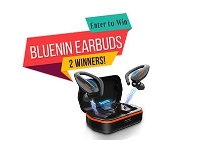 Bluenin Wireless Earbuds Giveaway