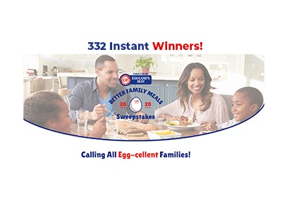 Eggland's Best Better Family Meals Sweepstakes