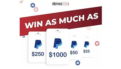 Win as Much as $1,000 Giveaway