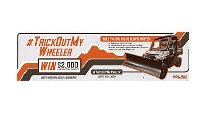 Kolpin Trick Out My Wheeler Sweepstakes – Ends Sept 30th