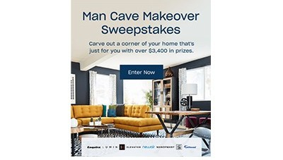 Man Cave Makeover Sweepstakes