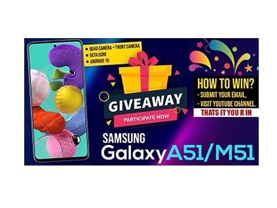 Samsung Galaxy A51 Phone Giveaway