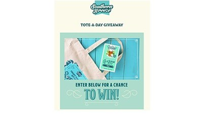 Southern Breeze Tote-A-Day Giveaway