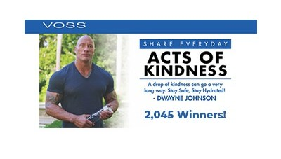 VOSS Drops of Kindness Sweepstakes