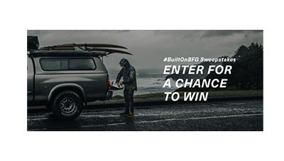 BFGoodrich #BuiltOnBFG Sweepstakes