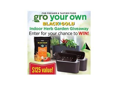 Indoor Herb Garden Giveaway