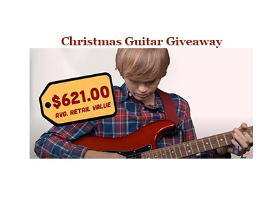 Christmas Guitar Giveaway