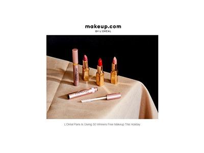 L'Oréal Paris Free Makeup Giveaway