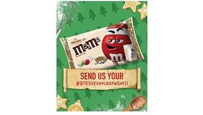M&M'S Sugar Cookie #BiteSizedHolidayWishes Sweepstakes