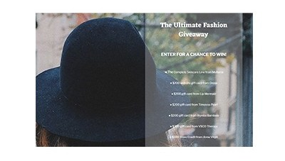 The Ultimate Fashion Giveaway