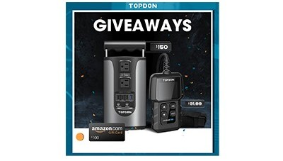 TOPDON Best Selling Tools Giveaway