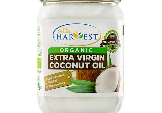 Golden Harvest Organic Extra Virgin Coconut Oil -500 ml | CERTIFIED ORGANIC