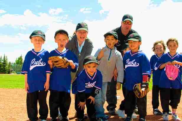 sunridge little league t-ball cubs vs blue jays