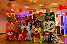 jing wo lion dance calgary 2014 chinese wedding