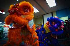 jing wo lion dance calgary 2015 chinese new year centre for newcomers