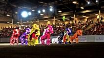 jing wo lion dance calgary 2015 chinese stampede
