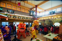 jing wo lion dance calgary 2016 chinese new year temple